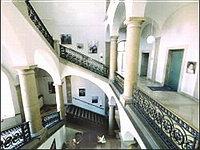 Кардиологическая клиника - Берлин - центральная лестница центра